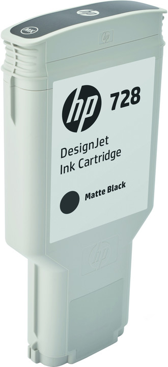 HP F9J68A no. 728 (300ml), matte black
