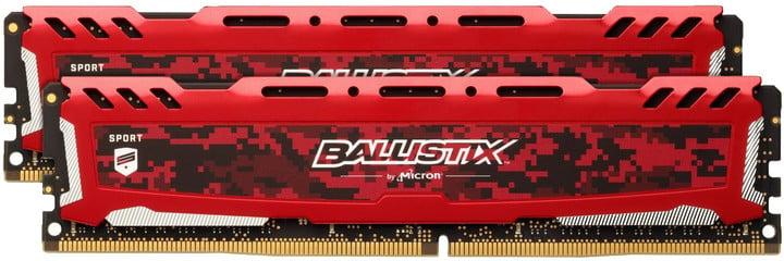 Crucial Ballistix Sport LT Red 8GB (2x4GB) DDR4 2666