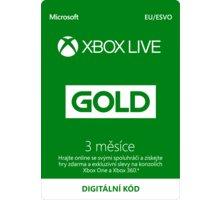 Microsoft Xbox Live zlaté členství 3 měsíce - elektronicky Elektronické předplatné deníku Sport a časopisu Computer na půl roku v hodnotě 2173 Kč