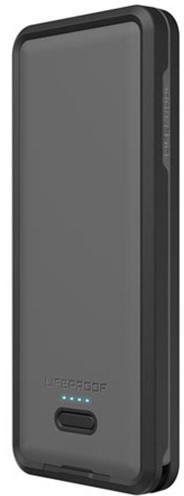 LifeProof Powerbanka 10,000 mAh, vodotěsná s LED - černá