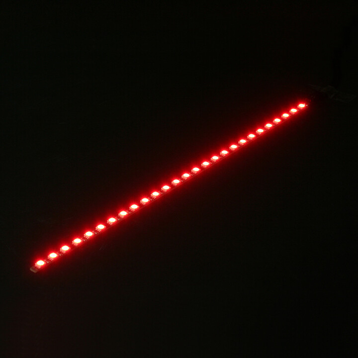 Nanoxia Rigid LED Bar pásek, 30 cm, Red