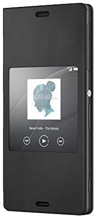 Sony pouzdro pro Xperia Z3 Compact, černá