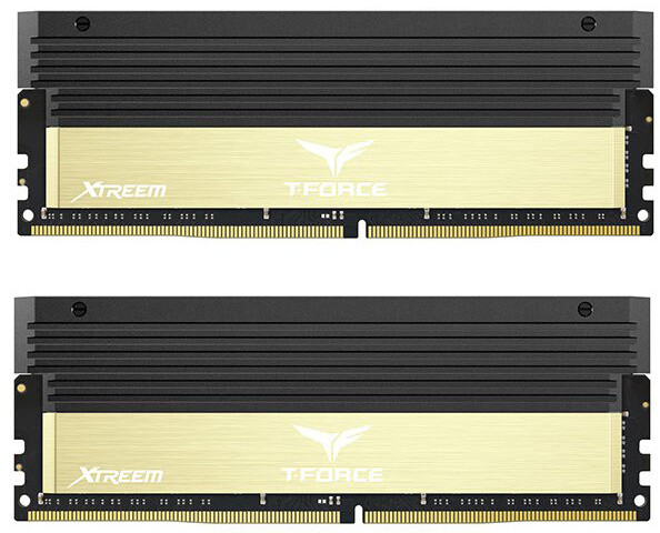 Team T-FORCE Xtreem 16GB (2x8GB) DDR4 3866, golden