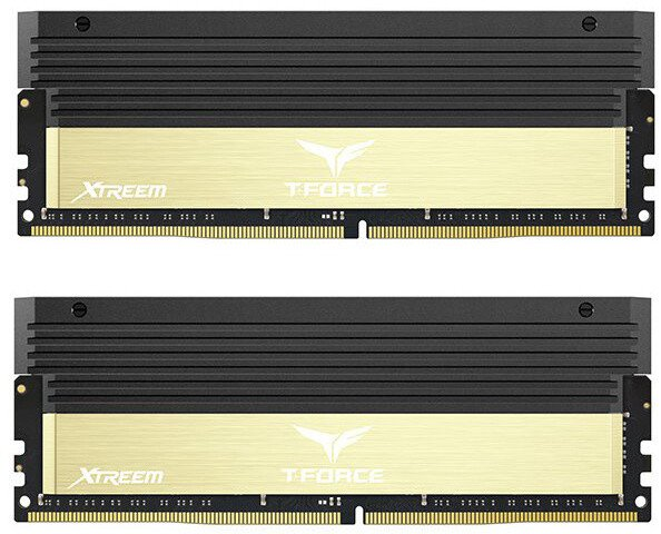 Team T-FORCE Xtreem 8GB (2x4GB) DDR4 3600, golden
