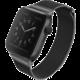 UNIQ řemínek Dante Apple Watch Series 4 Mesh Steel 40mm, černá