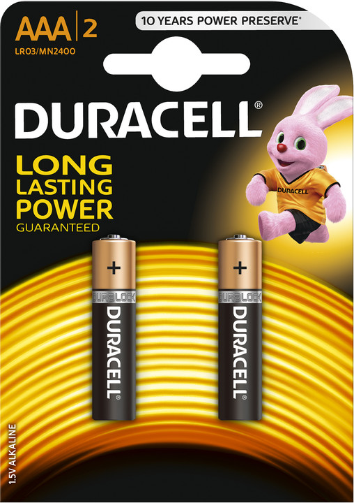 Duracell Basic AAA, 2ks