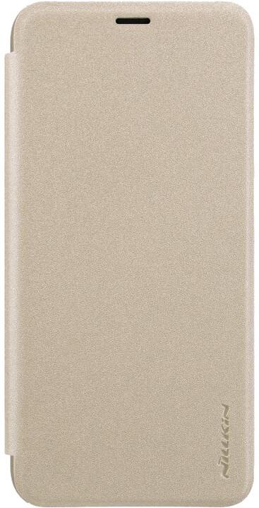 Nillkin Sparkle Folio pouzdro pro Xiaomi Redmi Note 7, zlatá
