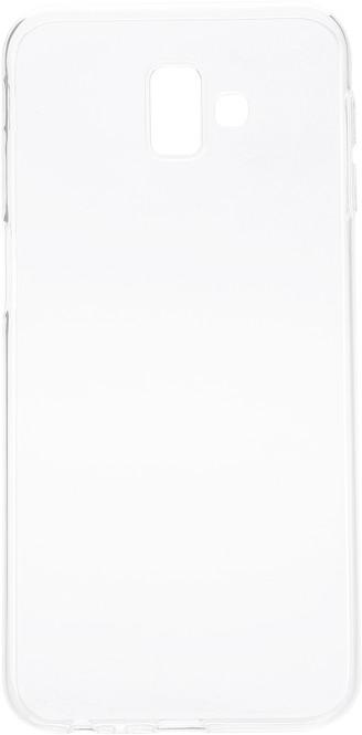 EPICO Pružný plastový kryt pro Samsung Galaxy J6+ RONNY GLOSS, bílý transparentní