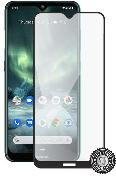 Screenshield ochrana displeje Tempered Glass pro Nokia 7.2 (2019), full cover, černá