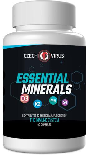 Doplněk stravy Essential Minerals