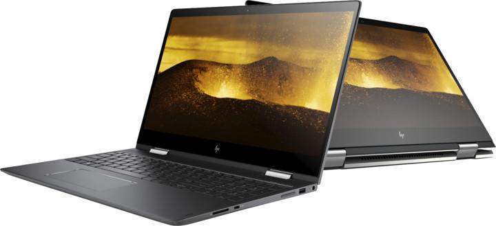 HP ENVY x360 15-bq100nc, černá