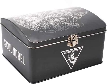 Kovová krabička Star Wars - Millennium Falcon