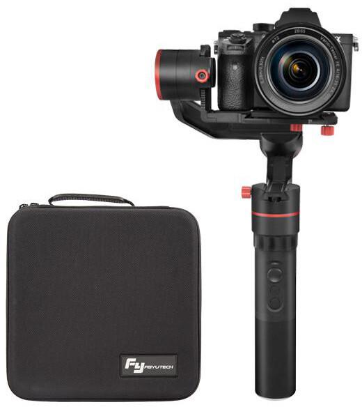 Feiyu Tech a1000 stabilizátor pro fotoaparáty kit s duální rukojetí