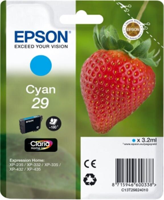 Epson C13T29824010, azurová