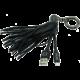 MIZOO USB/lightning přívěsek X900. černý