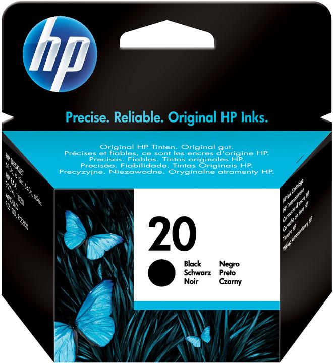 HP C6614D, no.20, černá