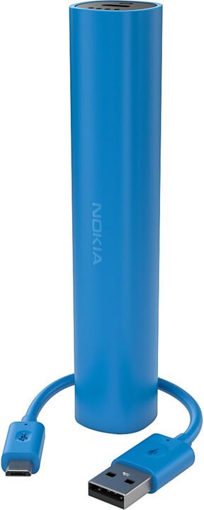 Nokia DC-16 záložní zdroj (micro USB, 2.200mAh), modrá