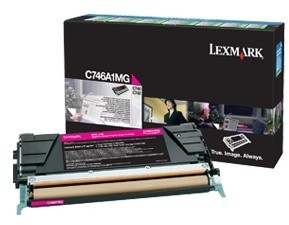 Lexmark C746A1MG, magenta, return