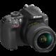 Nikon D3400 + AF-P 18-55 VR, černá