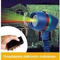 Laserová lampa Star Shower s dálkovým ovladačem, světelná dekorace