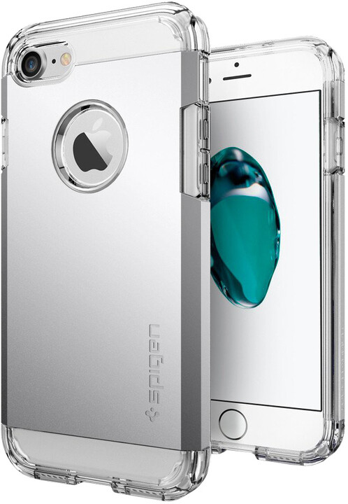 Spigen Tough Armor pro iPhone 7, satin silver