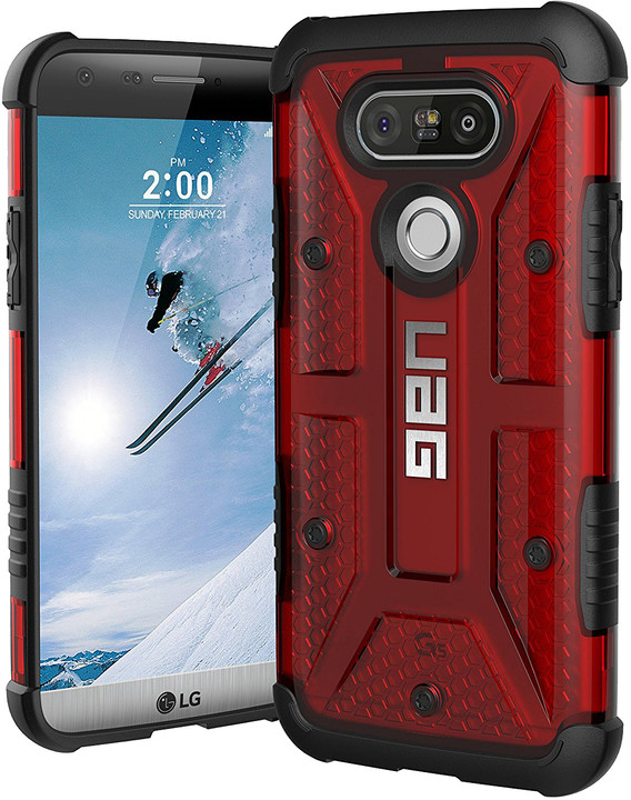 UAG composite case Magma, red - LG G5