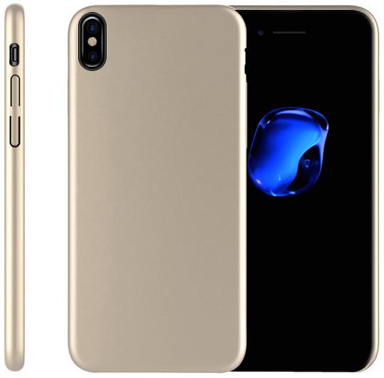 EPICO ULTIMATE plastový kryt pro iPhone X - zlatý