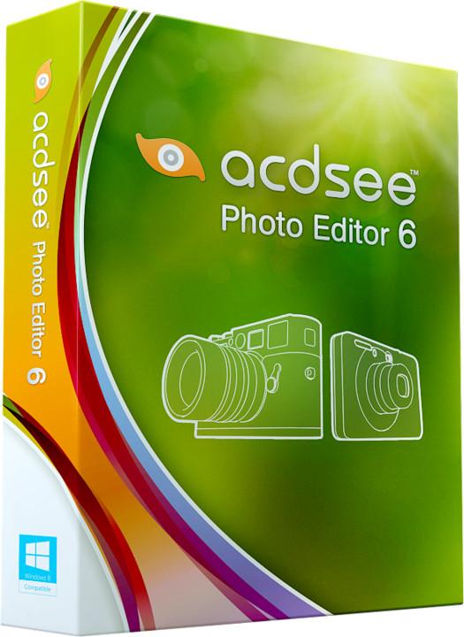 ACDSee Photo Editor 6, školní a GOV licence