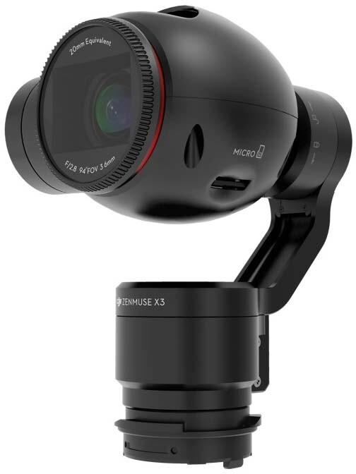 DJI OSMO - závěs s kamerou X3
