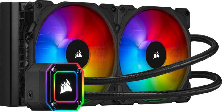 Corsair iCUE H115i ELITE CAPELLIX, 2x140mm RGB