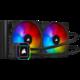 Corsair iCUE H115i ELITE CAPELLIX, 2x140mm RGB