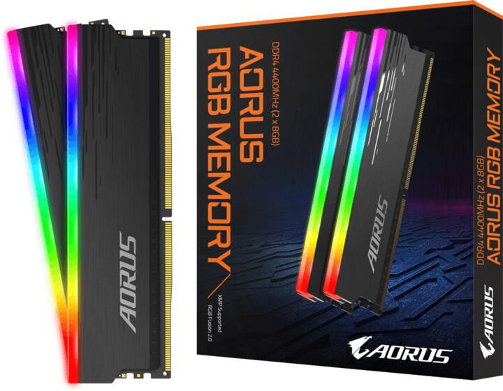 GIGABYTE AORUS RGB 16GB (2x8GB) DDR4 4400 CL19