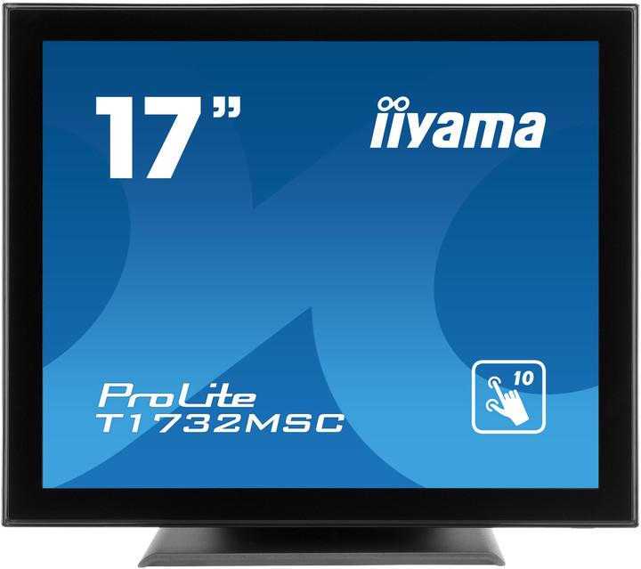 "iiyama T1732MSC-B1X - LED monitor 17"""
