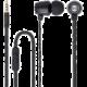 Forever MSE-100 přenosná stereo sluchátka (TFO-N) 3,5mm Jack s mikrofónem, černá