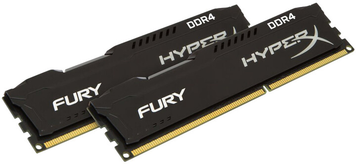 HyperX Fury Black 16GB (2x8GB) DDR4 3466