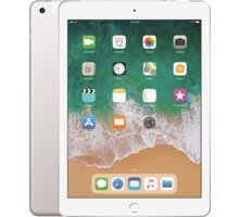 Apple iPad Wi-Fi + Cellular 128GB, Silver 2018  + Apple TV+ na rok zdarma