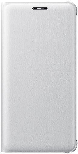 Samsung flip s kapsou pro Galaxy A3 2016, White