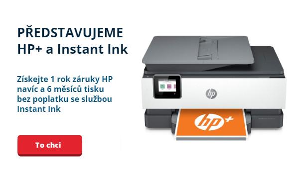 Představujeme HP+ a Instant Ink