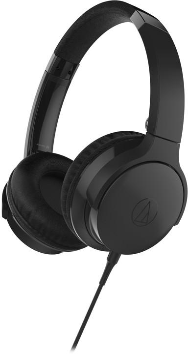 Audio-Technica ATH-AR3iS, černá
