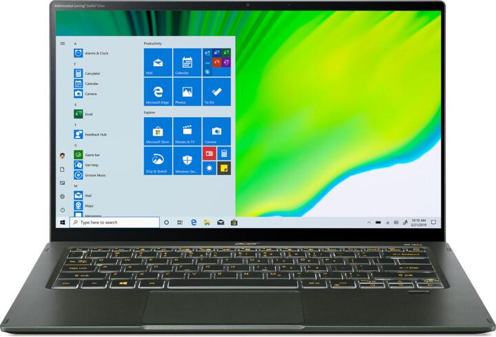 Acer Swift 5 (SF514-55GT-52JB), zelená