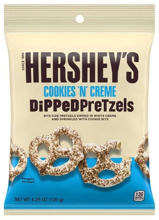 Hershey's preclíky bílá poleva a sušenky 120 g