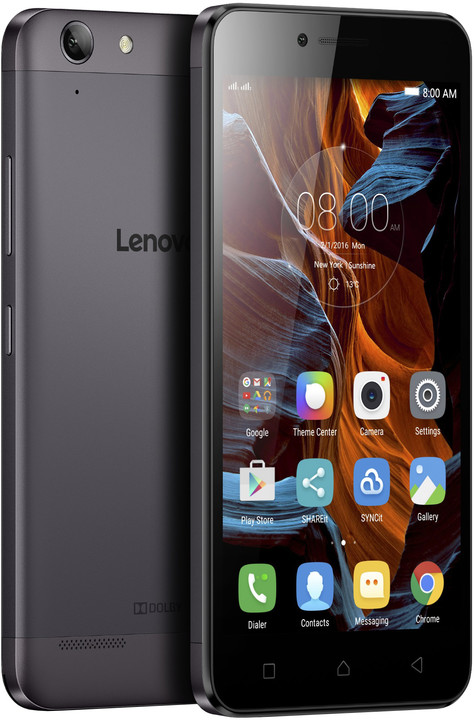 Lenovo K5 Plus - 16GB, LTE, šedá