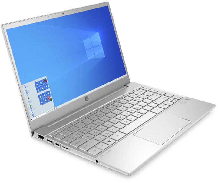 HP Pavilion 13-bb0002nc, stříbrná