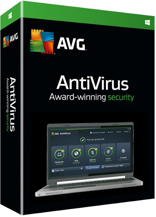 AVG Anti-Virus 2016, 1 licence (12 měs.) BOX