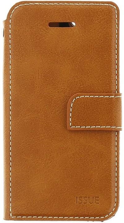 Molan Cano Issue Book Pouzdro pro Xiaomi Redmi Note 5, hnědá