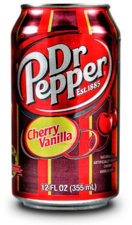 Dr. Pepper Cherry Vanilla USA 355 ml