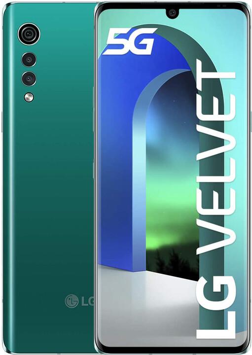 LG Velvet, 6GB/128GB, Green