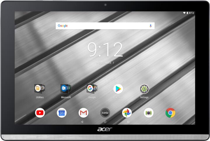 Acer Iconia One 10 FHD Metal (B3-A50FHD-K9CS), 2GB/32GB, stříbrná