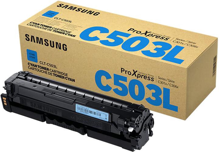 Samsung CLT-C503L/ELS, azurová