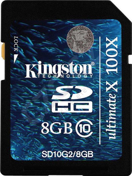 Kingston SDHC G2 8GB Class 10
